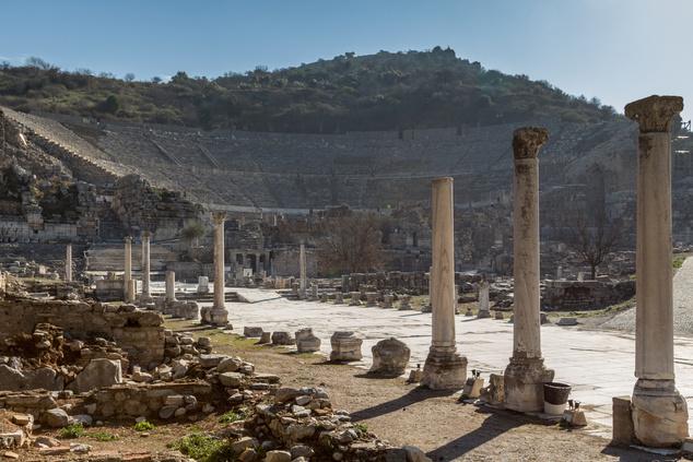 Nincsenek híján a környéken a látványosságoknak - Epheszosz romvárosa