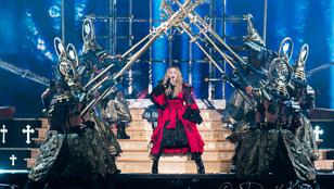 Madonna terminátorlédiből valódi ember lesz