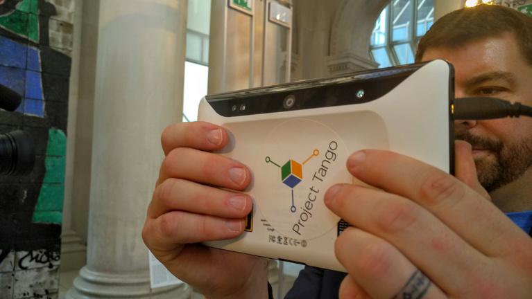 A Google és a Lenovo körbetangózta a katalán múzeumot