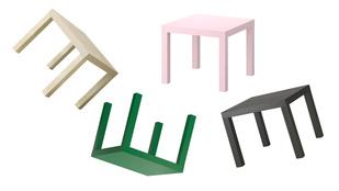 Nézze, milyen faék egyszerűségű valójában a legnépszerűbb Ikea asztalka