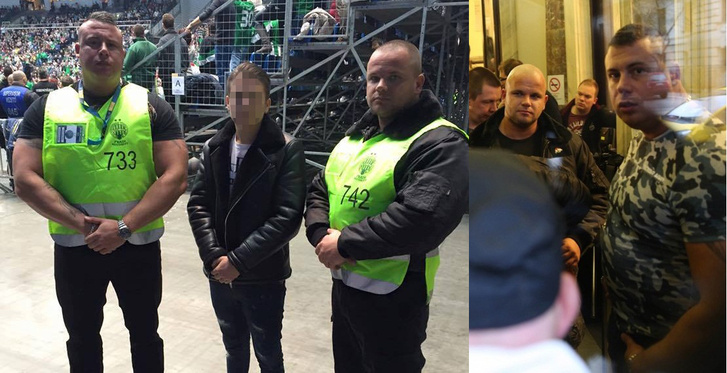 Fradi Security a Nemzeti Választási Irodában