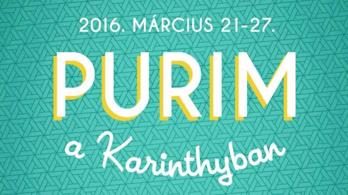 Karinthy Márton álma – Jön a Purim Fesztivál!