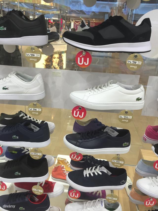 Office Shoes: ide is benéztünk. Lacoste cipők 40-50 ezer (!) között keresik gazdájukat.