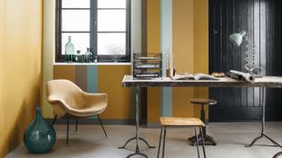 Aranyos sárgában fog ragyogni a lakás