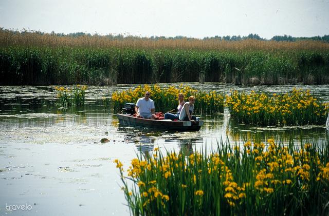 Csónakázás Tisza-tavon