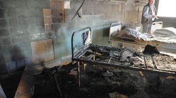 Pszichiátriai beteg gyújtotta magára a kórházi ágyat Győrben