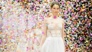 Elkészültek az idei menyasszonyi álomruhák is