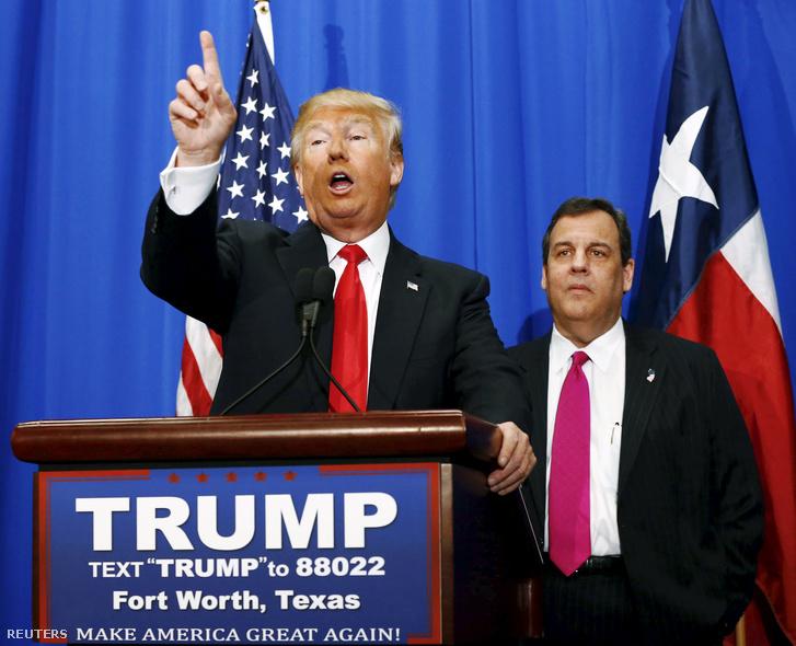 Trump és Christie