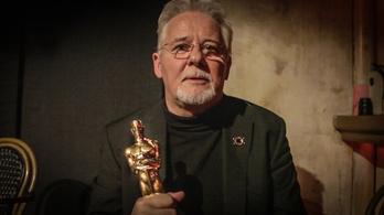 Milyen egy Oscar-szobor és milyen megnyerni? Rofusz Ferenc élőben bemutatja az Index kamerájának