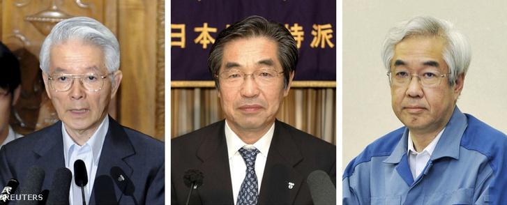 Kacumata Cunesziha, Muto Szakae és Takekuro Icsiro