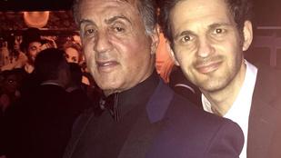 Az idei Oscar legmenőbb szelfijét a Stallonéval pózoló Röhrig Géza hozta