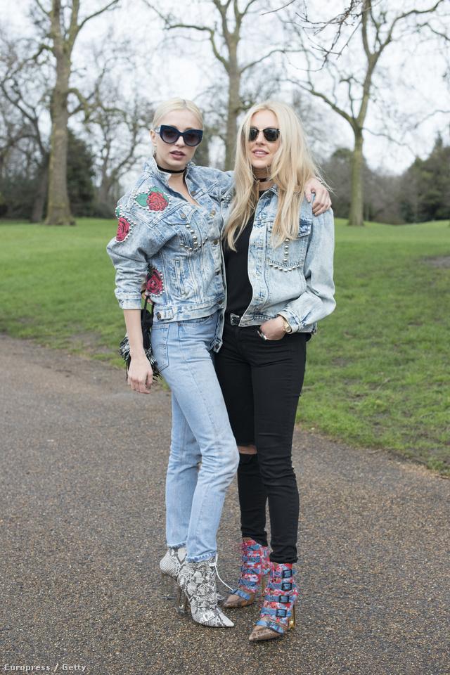 Londonban is feltűntek az egymást kísérgető, ölelgető lányok.