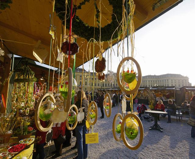 Húsvéti vásár Schönbrunnban