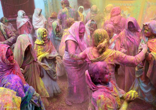 Holi: színes festékpor minden mennyiségben