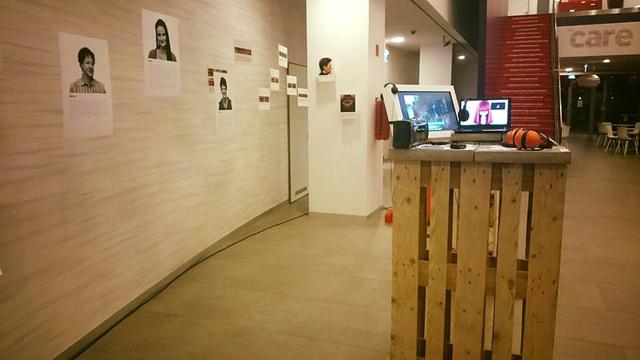 Szájkóder - Olvass szájról kiállítás