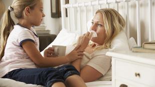Ha jó szülők vagyunk, azt a szervezetünk szívja meg