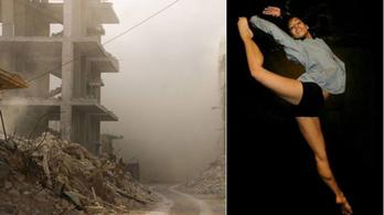 Az utolsókig kitart hazájában a szír balerina