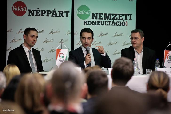 Stummer János, Vona Gábor és Szilágyi György