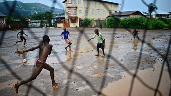 Túl az ebolán még mindig csak a szenvedés vár