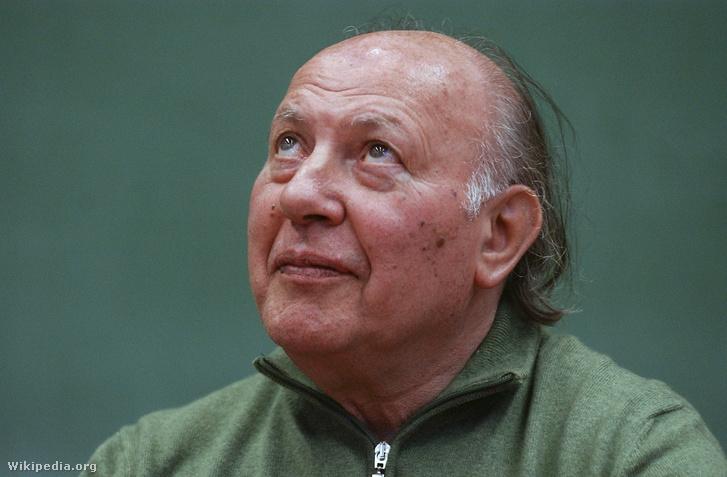 Imre Kertész (1929-) Hungarian writer II. by Csaba Segesvári