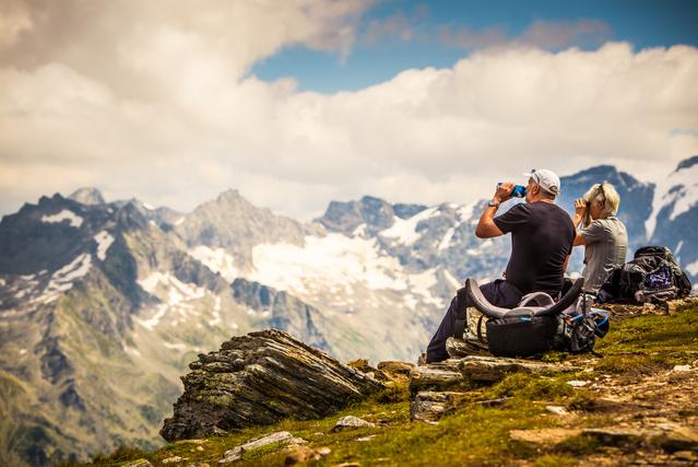 Kirándulás az Alpokban