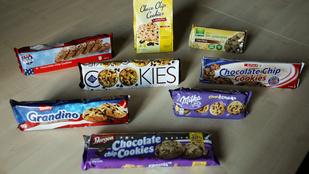 Teszt: csokidarabkás kekszek és könnyek