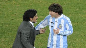 Maradona: Lepofoztam volna Messit a legurított tizenegyesért