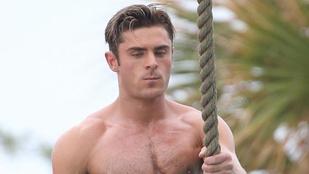 Zac Efron nem akar Tarzan lenni, csak úgy néz ki