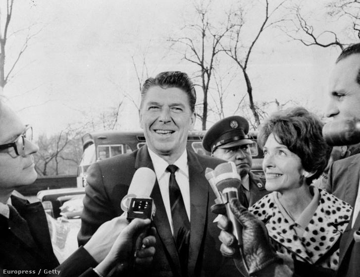 Ronald Reagan és Nancy Reagen (1967)