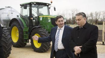 Tavaly is Mészáros kapta a legtöbb agrártámogatást Felcsúton