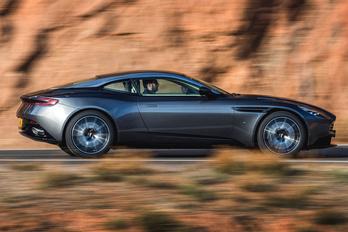 Betalált az új Aston Martin