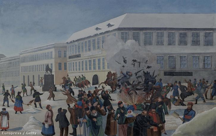 Bombamerénylet II. Sándor ellen.