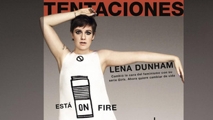 Lena Dunham kiakadt rajta, hogy retusálták a képét, ezért pucérra vetkőzött
