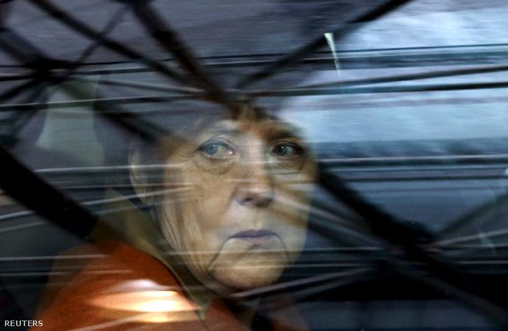 Angela Merkel Brüsszelben