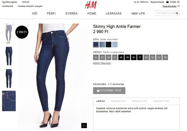 De idén már 3000 forint alatt is vásárolhat nadrágot a svéd cégnél!