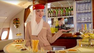 Saját minibár jár a nagyon gazdagok repülőjegyéhez
