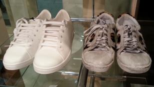 Menő vagy ciki a gyárilag koszos cipő?