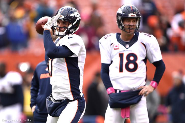 Se Peyton Manning, se Brock Osweiler nem lesz már ősszel a Broncosnál