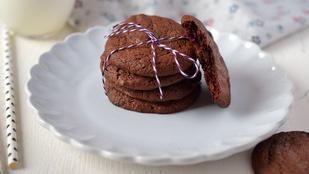 Gluténmentes mennyország: brownie keksz liszt nélkül