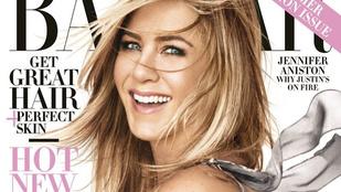 Mit szól Jennifer Aniston címlapjához?