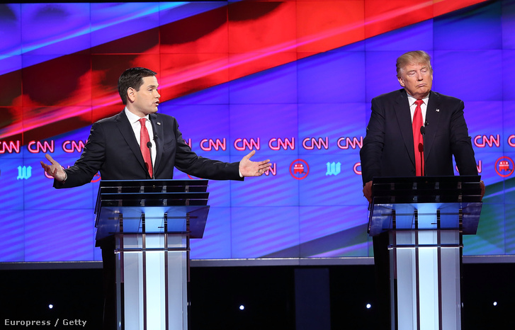 Marco Rubio és Donald Trump