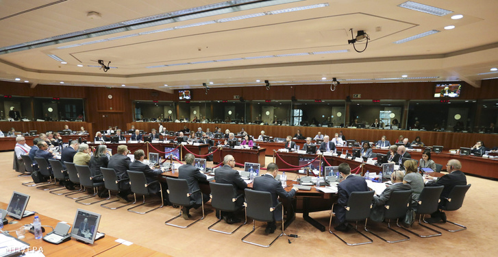 Az Európai Unió Bel- és Igazságügyi Tanácsának ülése Brüsszelben 2016. március 11-én.