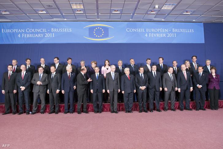 Az Európa Tanács, 2011-ben.