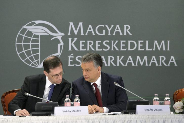 Varga Mihály és Orbán Viktor
