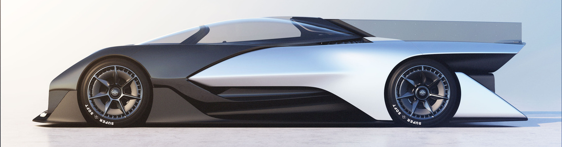 FF CES Racecar 1440x1440 Exterior 02 Full