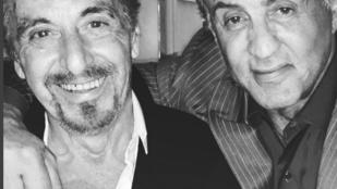 Úristen: Stallone Al Pacinóval szelfizett