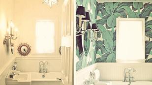 Mutatjuk, milyen a fürdőszoba tapétával