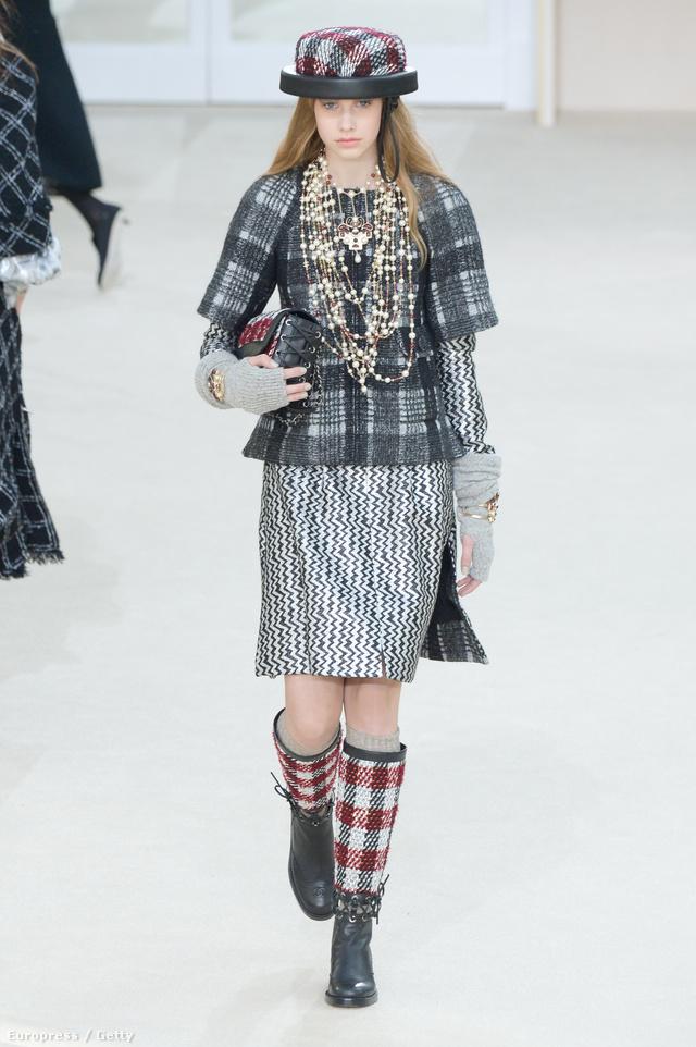 Nem kérdés, hogy kapkodtak Mink Oliviáért a divatházak. A fiatal modell a Chanel kifutóján is helyet kapott.