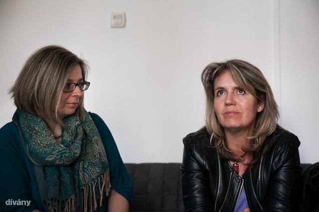"""""""Semmilyen személyes érintettségünk nincs, egyszerűen imádjuk csinálni"""" – Tokody Marianna (balra) és Bakonyvári L. Ágnes (jobbra)"""