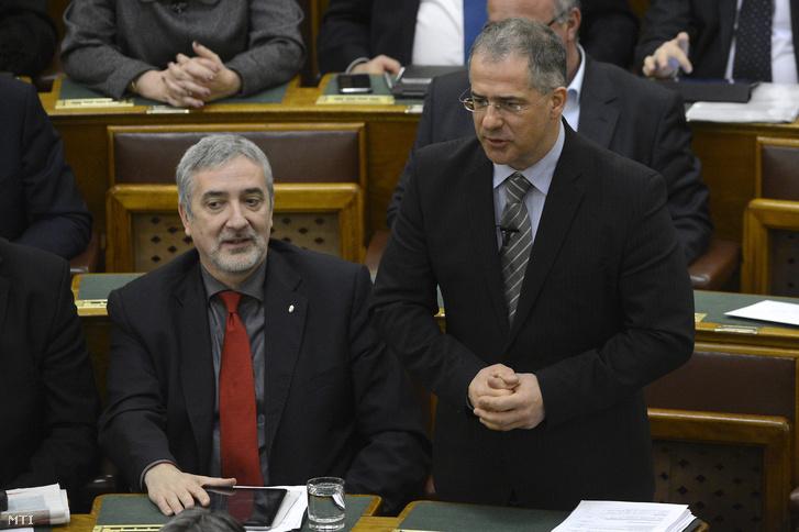 Kósa Lajos a Fidesz frakcióvezetõje felszólal napirend elõtt az Országgyûlés plenáris ülésén 2016. március 16-án.